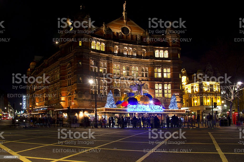 Palace Theater in London, UK royalty-free stock photo