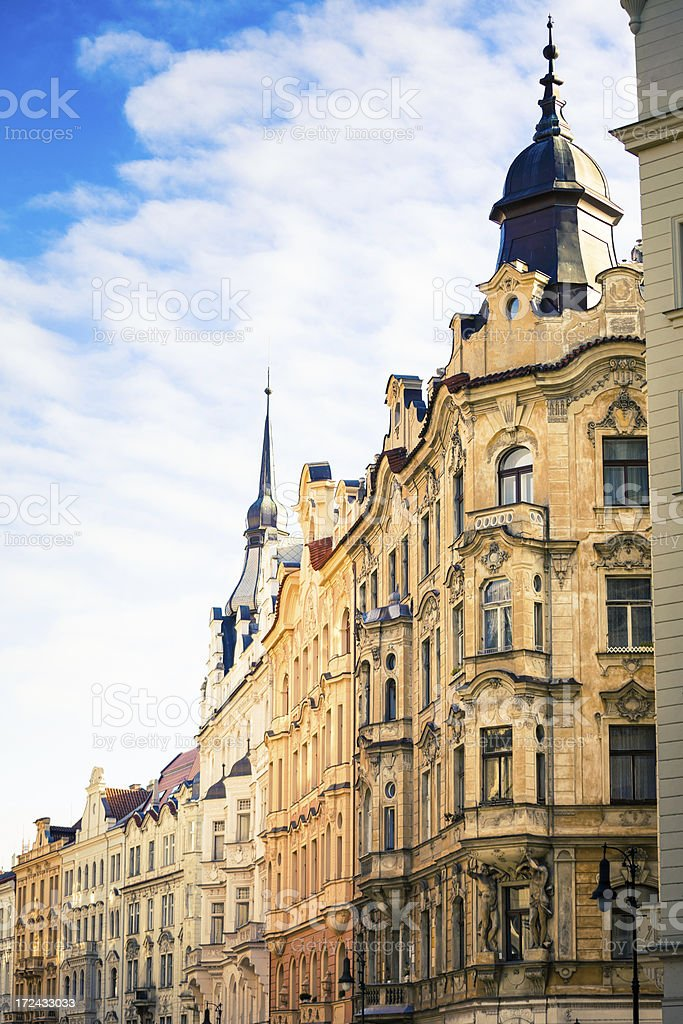 Palaces of Prague, Czech Republich royalty-free stock photo