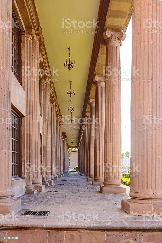 Palacid del congreso in Saltillo, Mexico stock photo