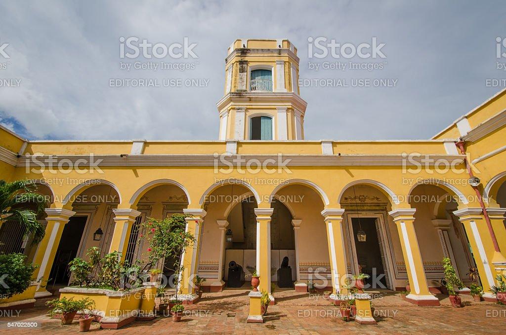 Palacio Cantero in Trinidad, Cuba stock photo