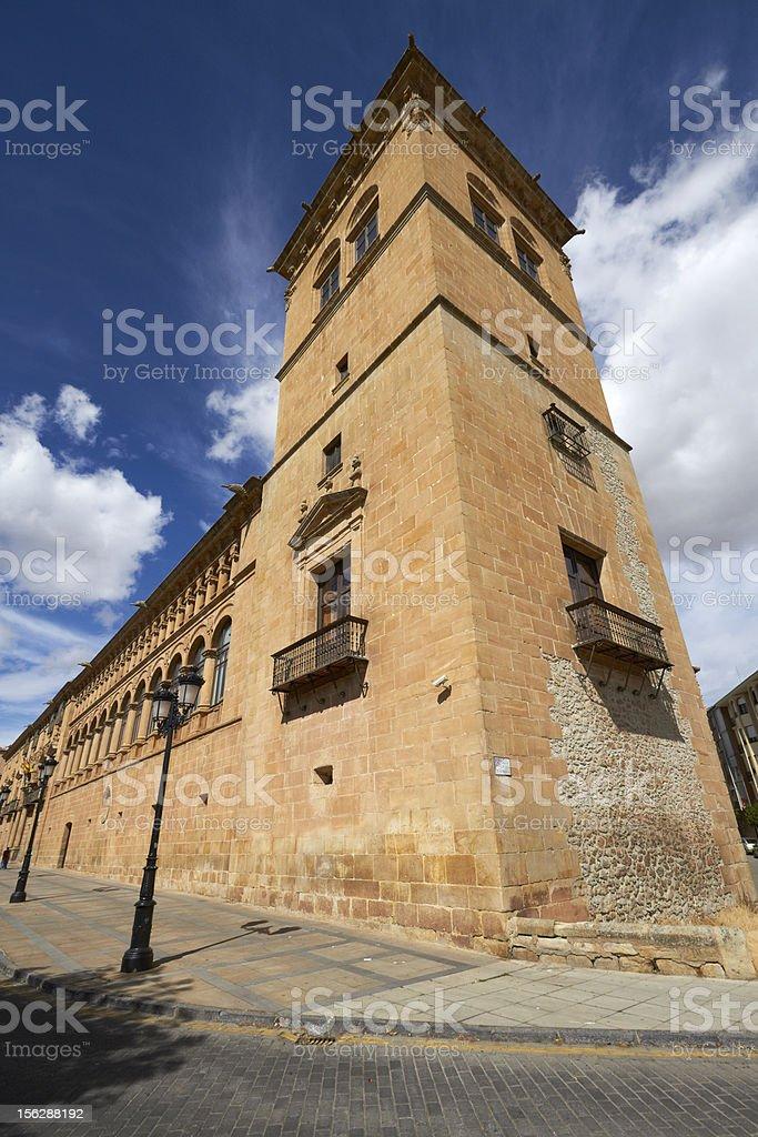 Palacio Condes de Gomara royalty-free stock photo