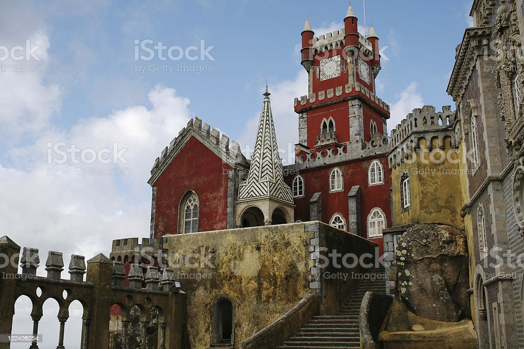 Palacio da Pena stock photo