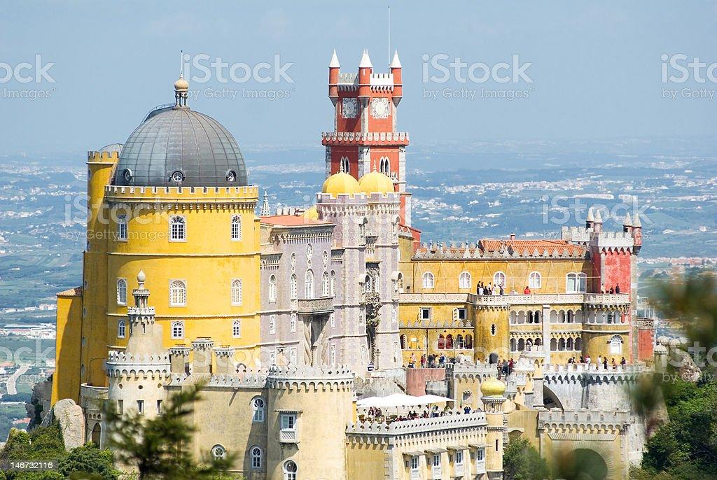 Palacio da Pena (Sintra, Lisbonne, Portugal) stock photo