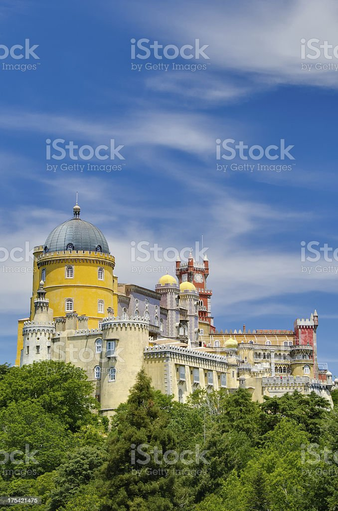 Palacio da Pena (Sintra-Portugal) stock photo