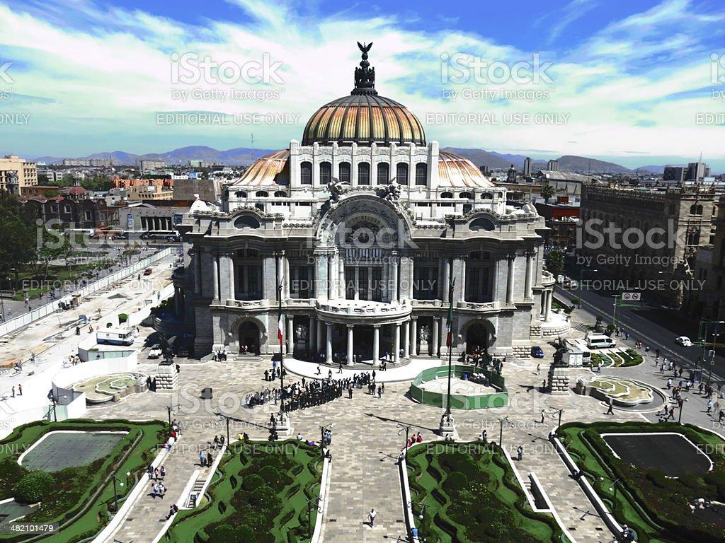 Palacio de Bellas Artes stock photo