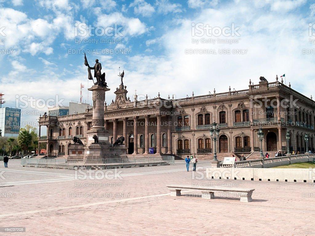 Palacio de Gobierno, Monterrey, Mexico stock photo