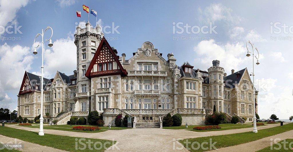 Palacio de la Magdalena stock photo