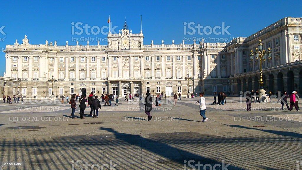 Palacio de Oriente stock photo