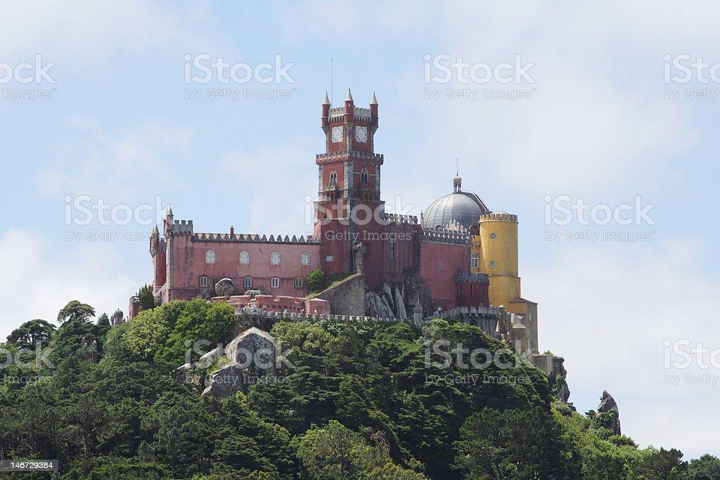 Palacio de Pena in Sintra/Portugal royalty-free stock photo