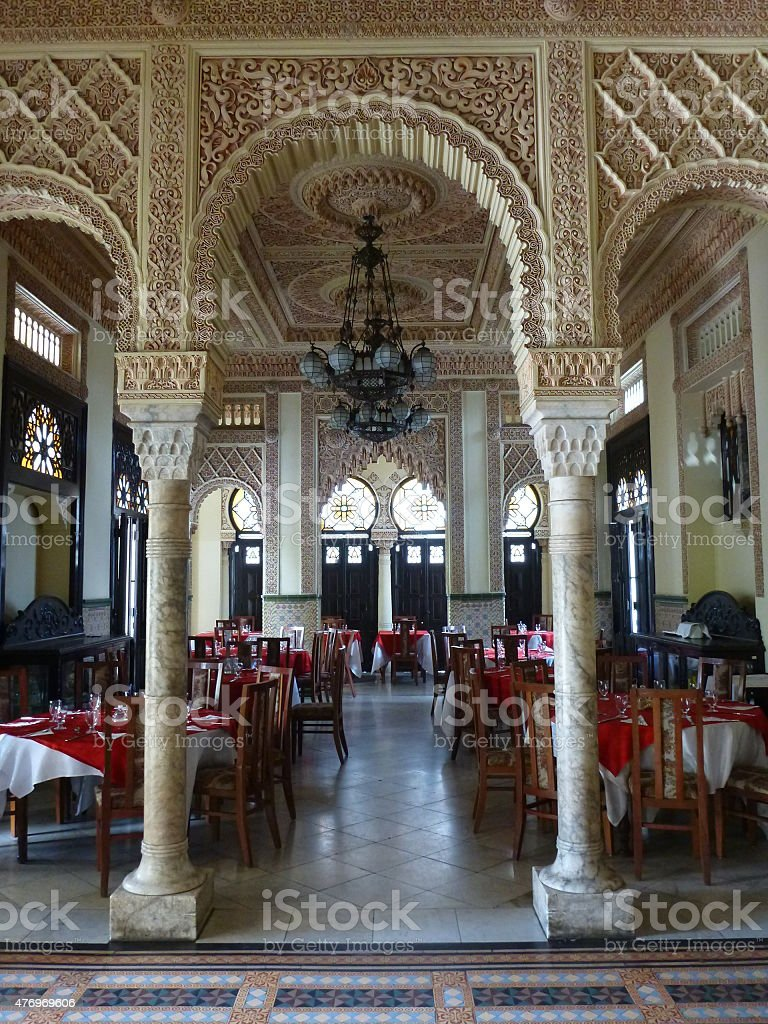 Palacio del Valle, Cienfuegos, Cuba stock photo