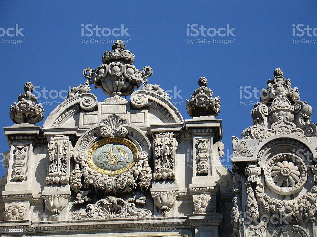 Palacio en el Bósforo stock photo