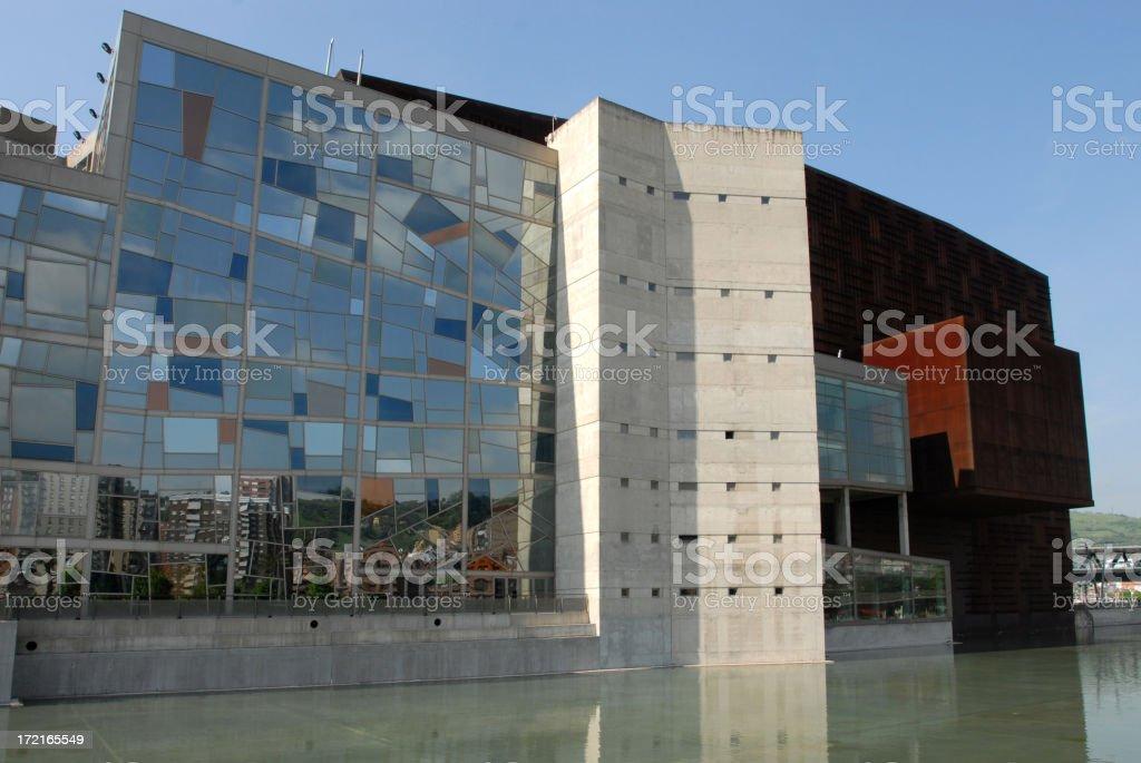 Palacio Euskalduna stock photo