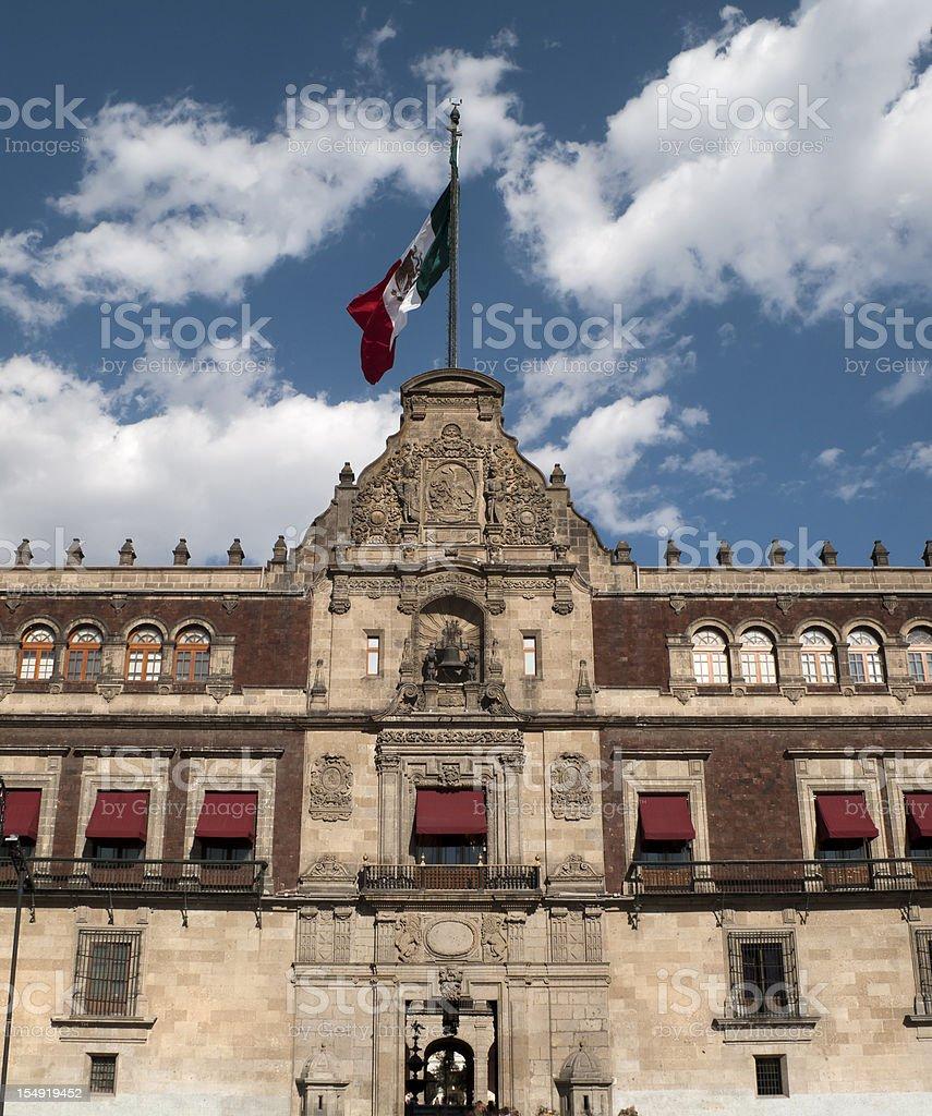 Palacio Nacional (National Palace), Mexico City royalty-free stock photo