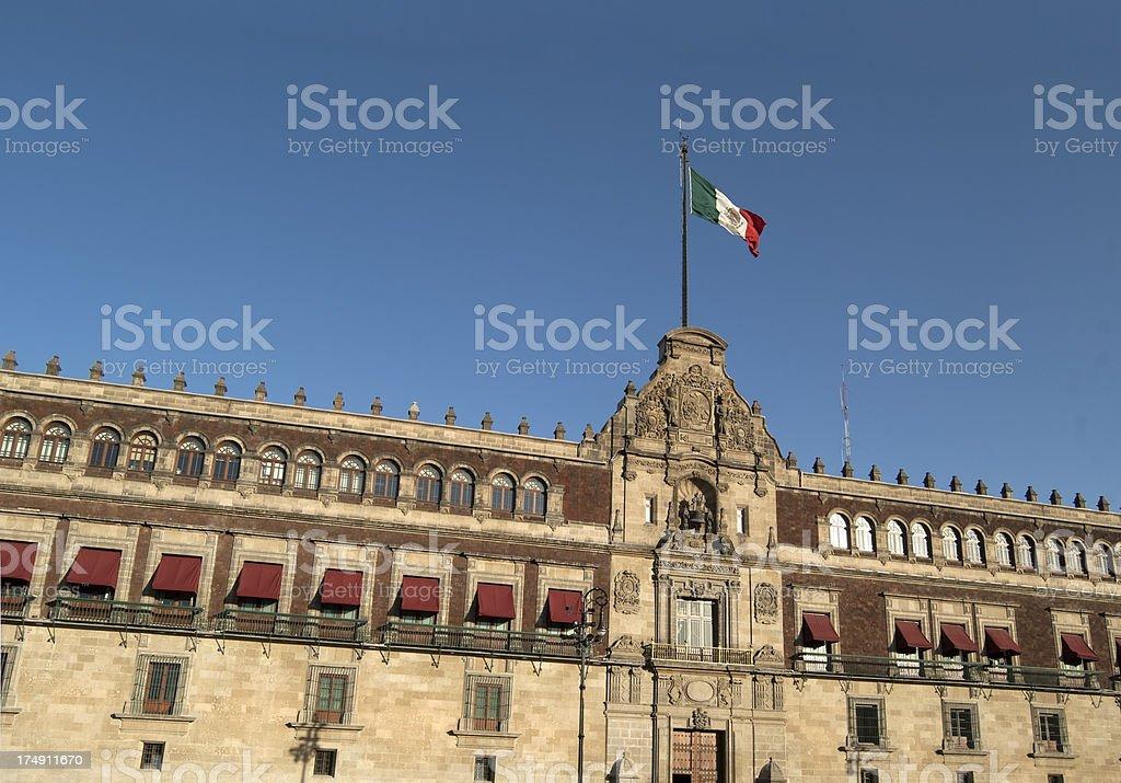 Palacio Nacional, Mexico City stock photo