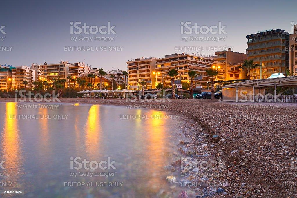Palaio Faliro, Athens. stock photo