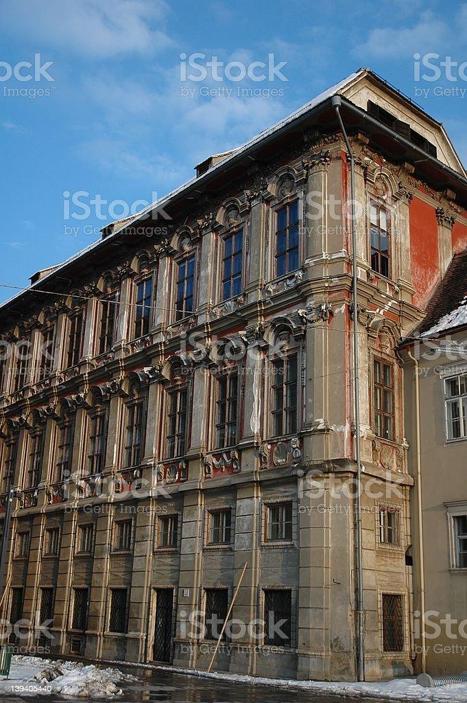 Palais Attems in Graz royalty-free stock photo