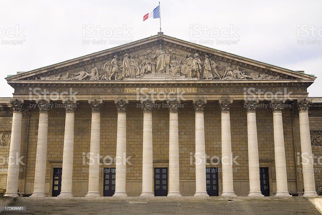 Palais Bourbon royalty-free stock photo