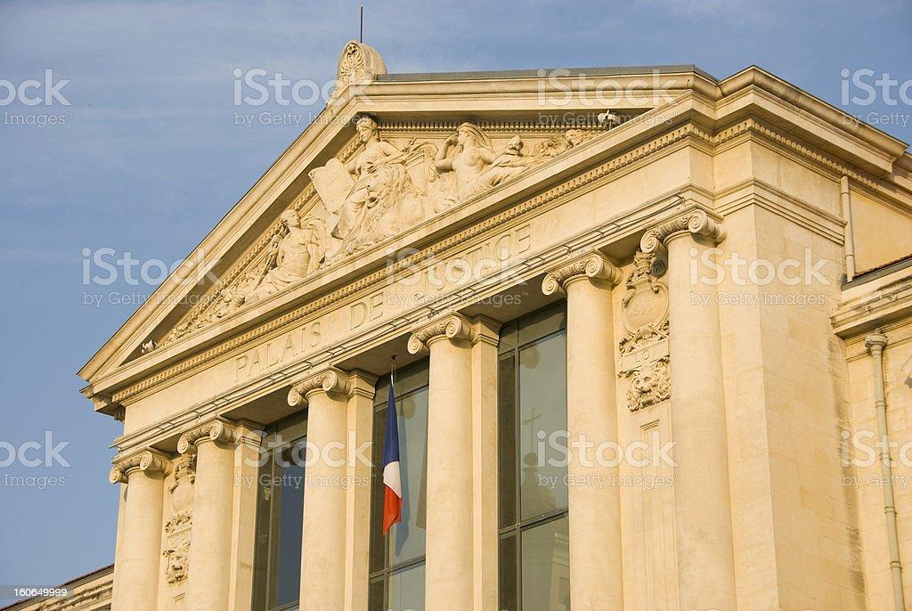 Palais de Justice, Nice royalty-free stock photo