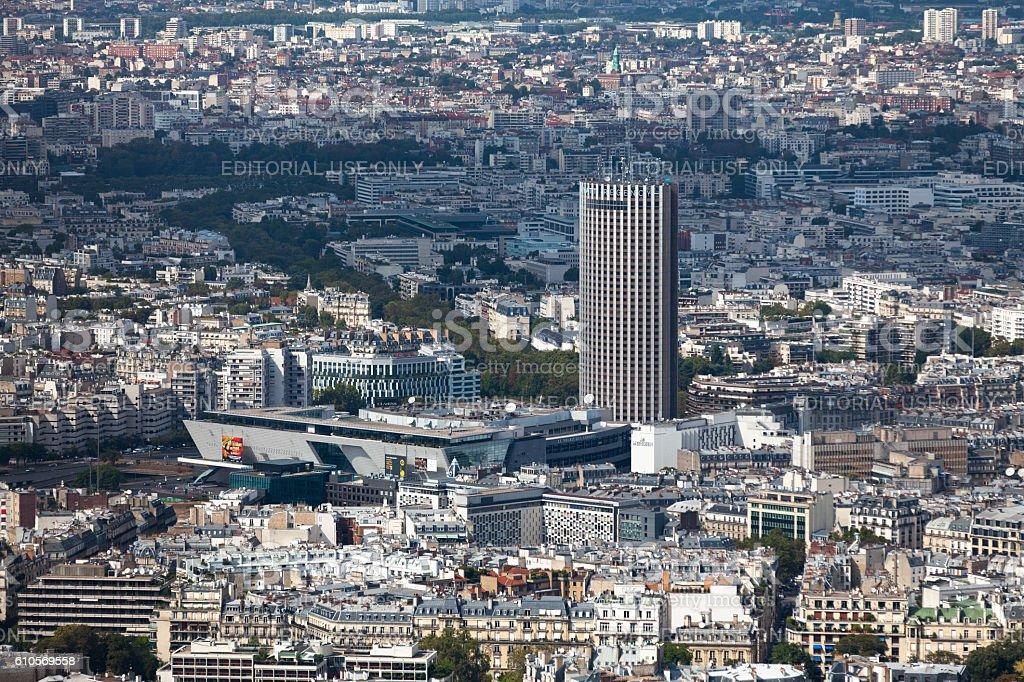 Palais des congrès de Paris stock photo
