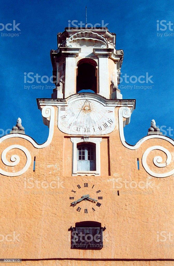 Palais des Gouvérneurs, Bastia, Corsica stock photo