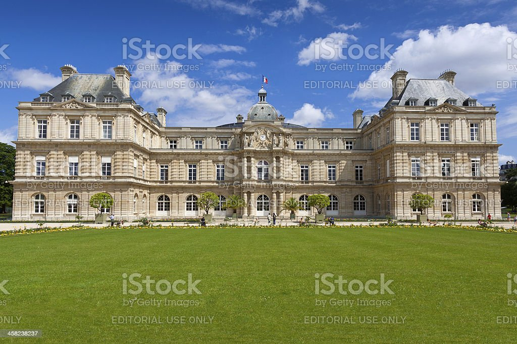 Palais du Luxembourg, Paris. royalty-free stock photo