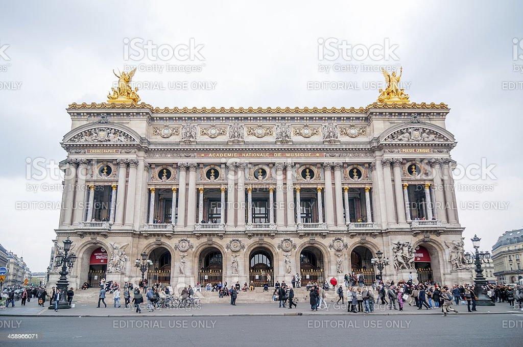 Palais Garinier, Paris royalty-free stock photo