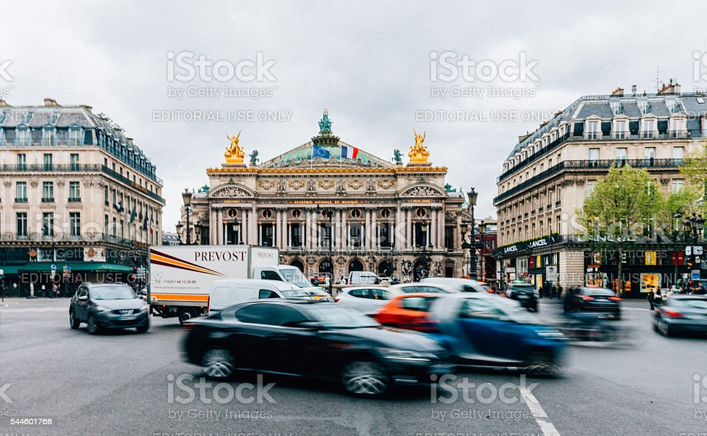 Palais Opéra Garnier in Paris, France stock photo