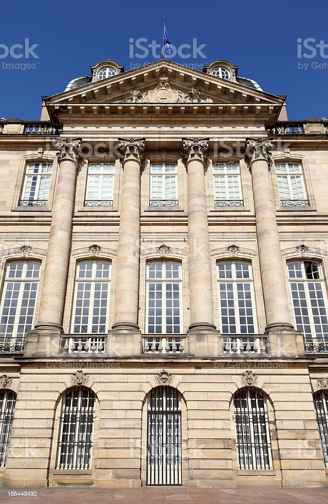 Palais Rohan in Strasbourg, France royalty-free stock photo