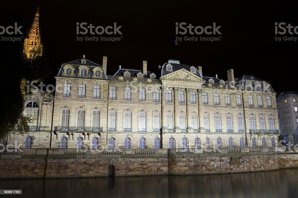 Palais Rohan stock photo