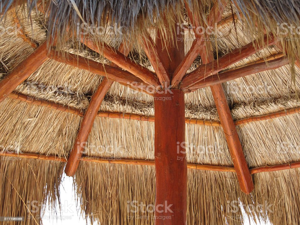 Palapa stock photo