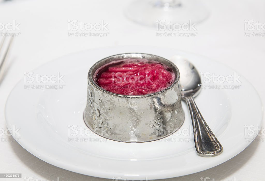 Palate Cleanser stock photo