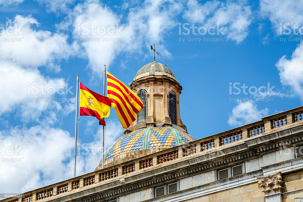 Palau Generalitat stock photo