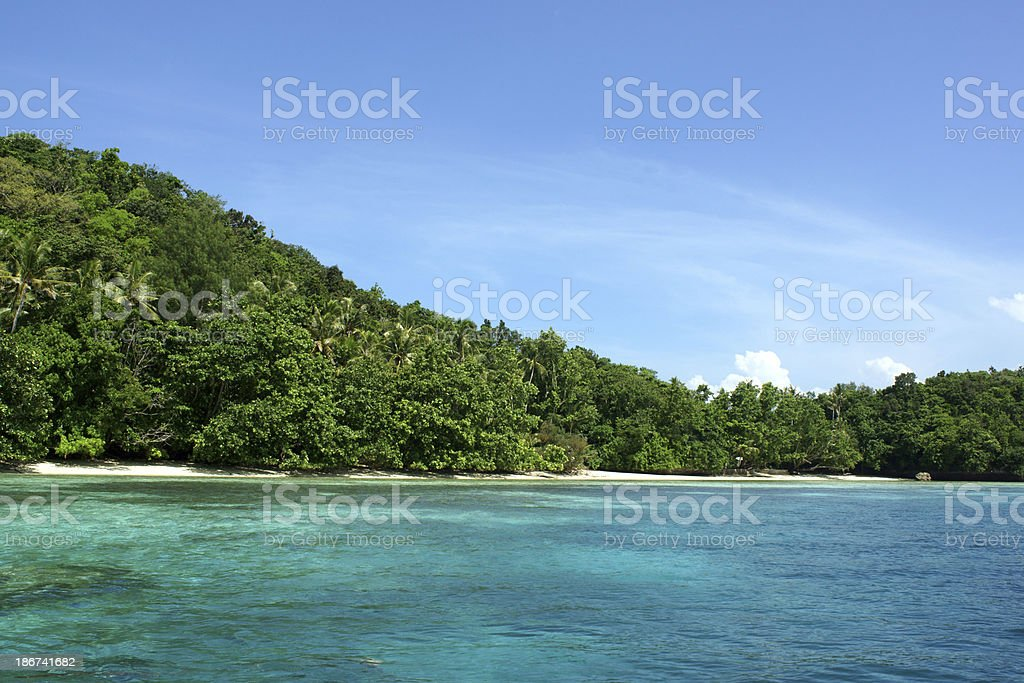 Palau stock photo