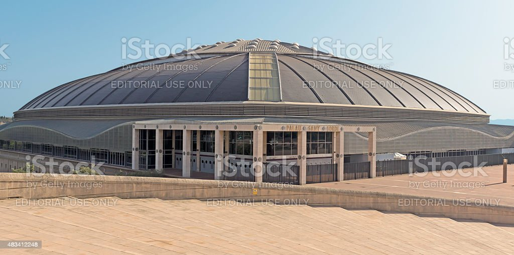 Palau Sant Jordi stock photo