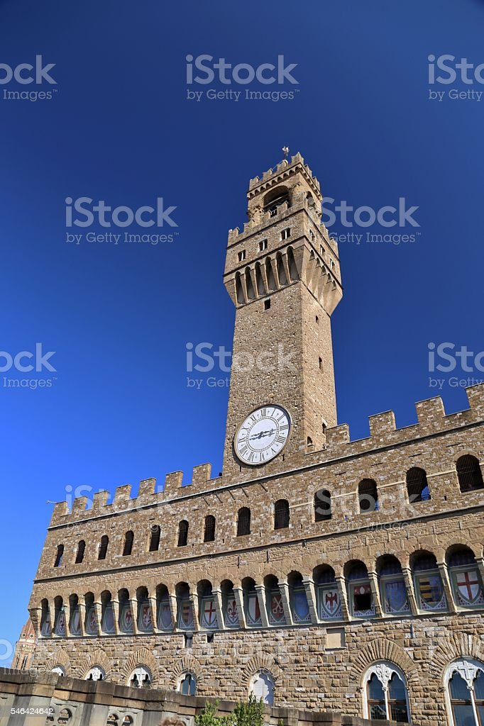 Palazo Vecchio-Old Palace stock photo