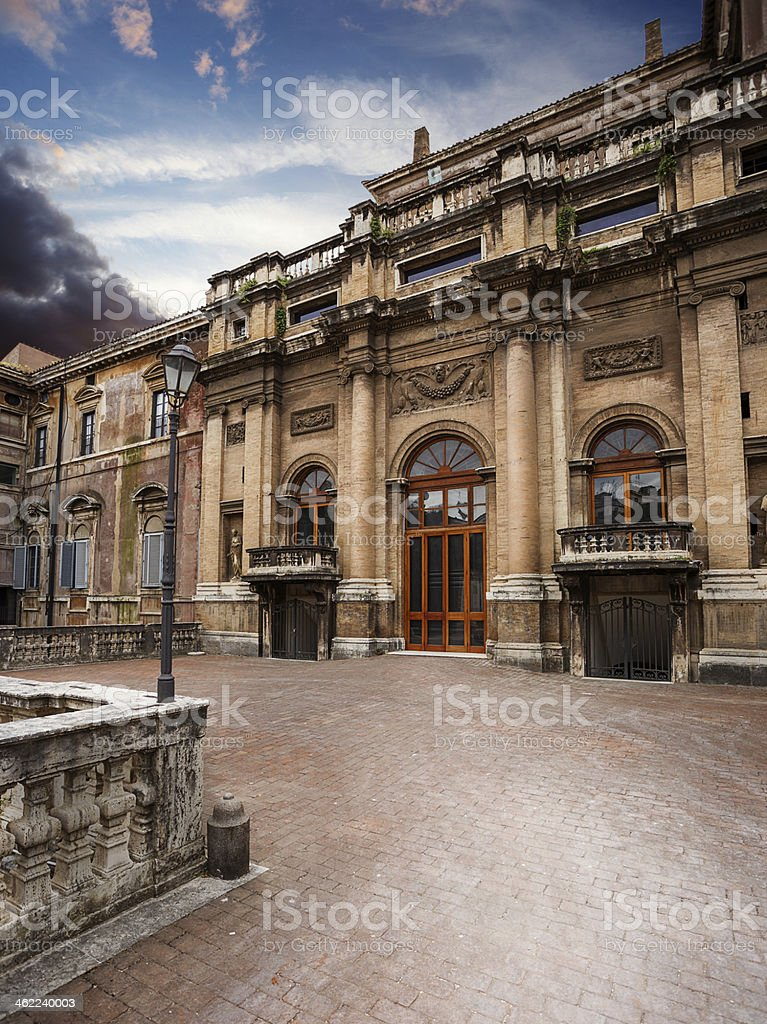 Palazzo Barberini. Rome. Italy. stock photo