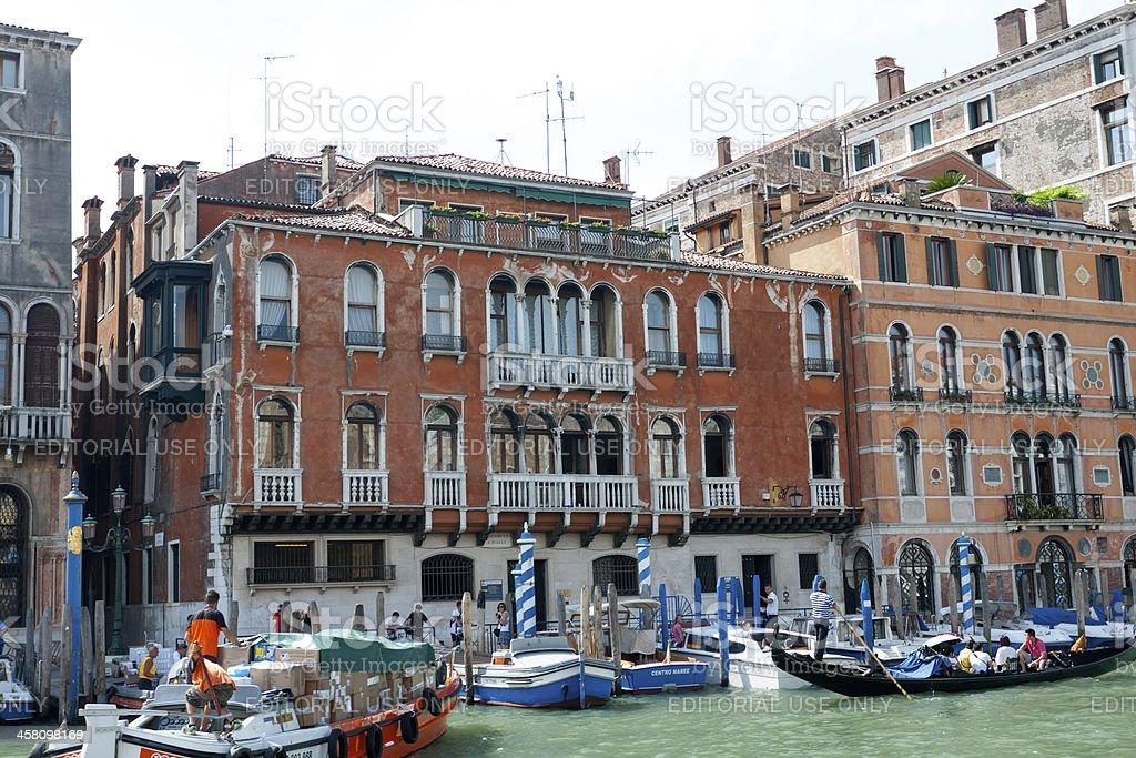Palazzo Cavalli royalty-free stock photo
