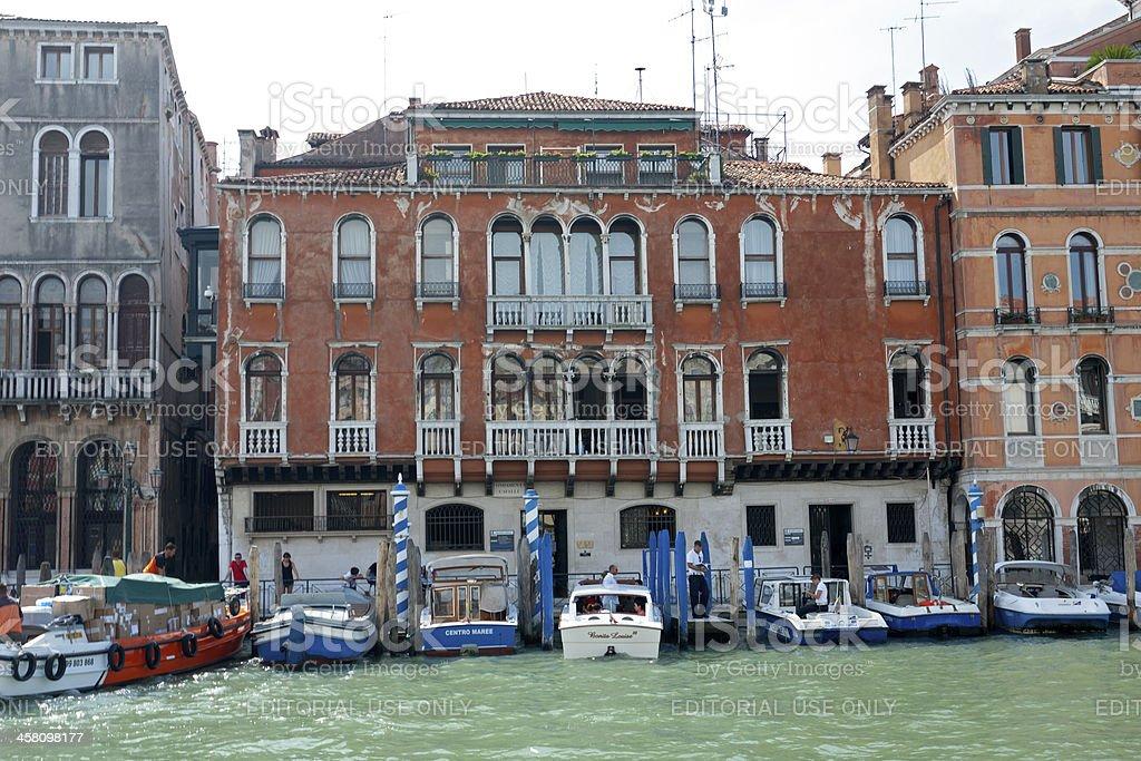 Palazzo Cavalli stock photo