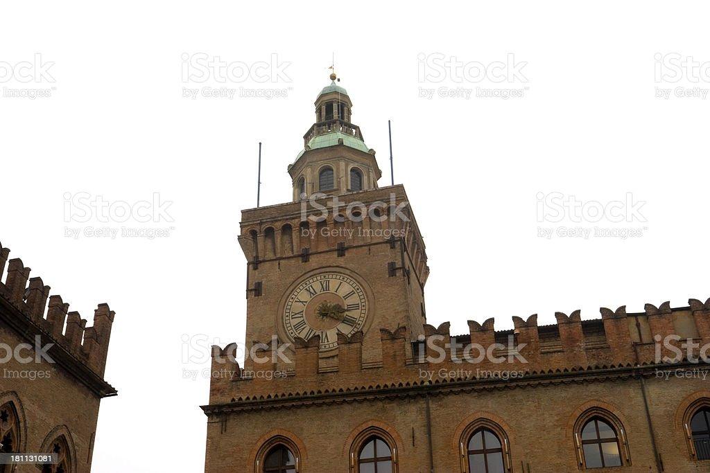 Palazzo d'Accursio stock photo