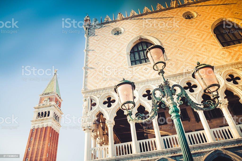 Palazzo dei Dogi in Venice stock photo