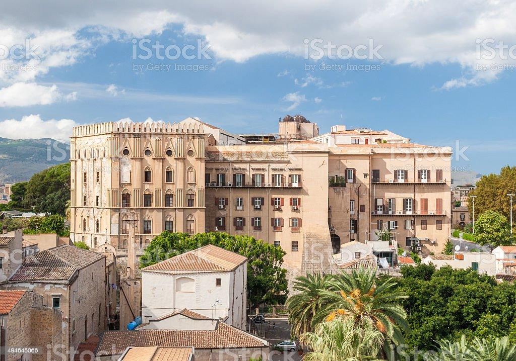 'Palazzo dei Normanni', in Palermo (Sicily) stock photo