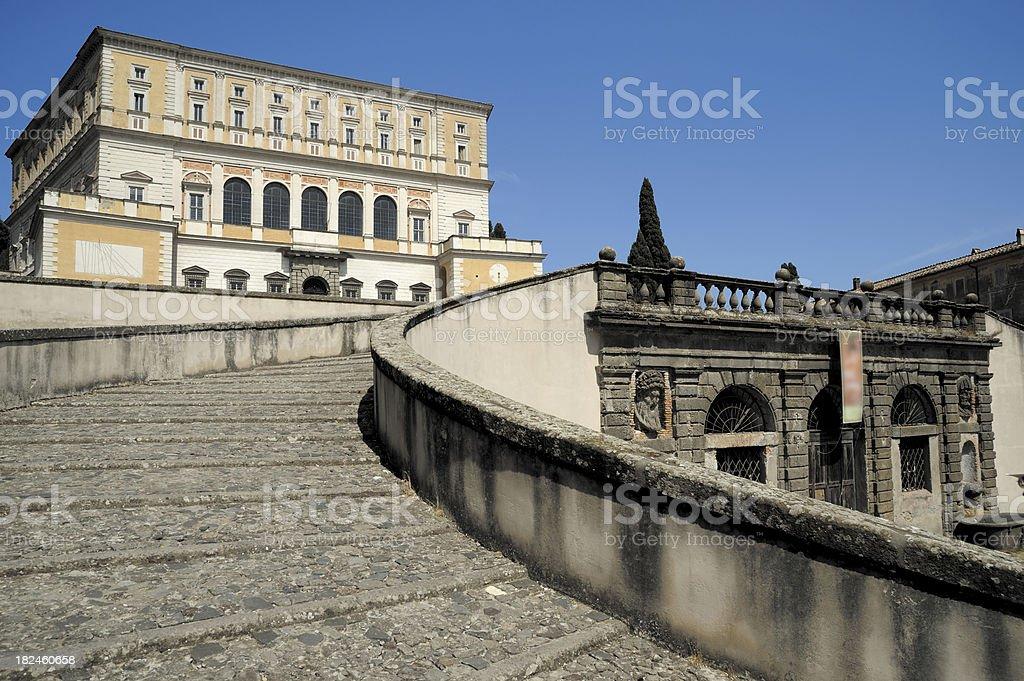 Palazzo Farnese stock photo