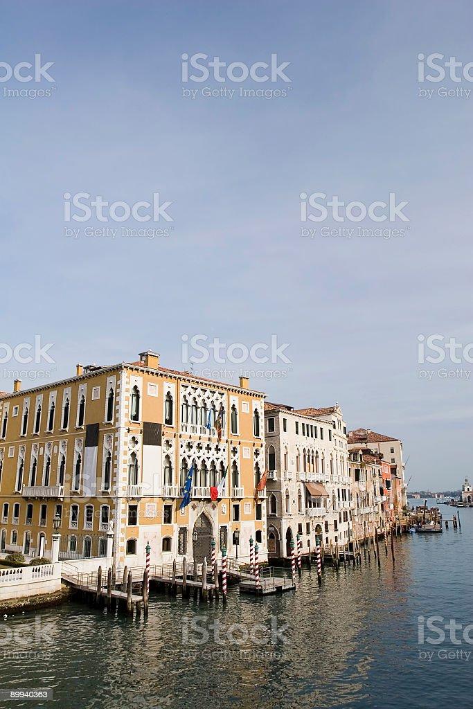 Palazzo Franchetti Cavalli, Grand Canal, Venice stock photo