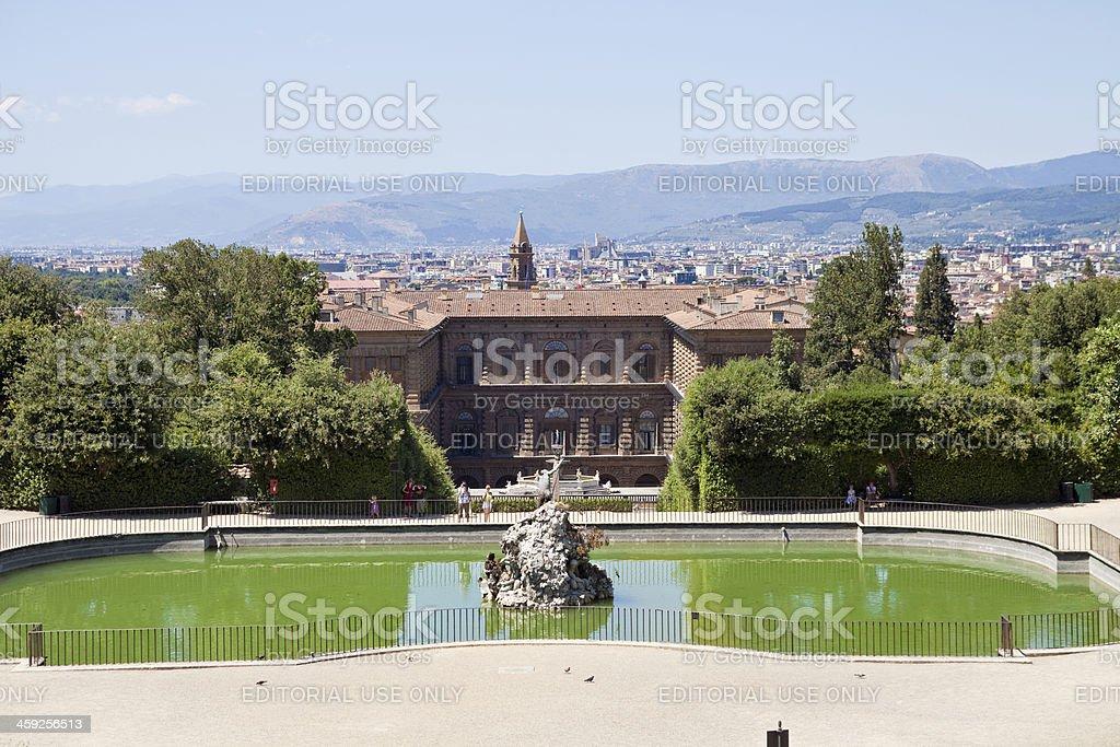 Palazzo Pitti stock photo