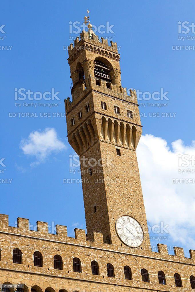 Palazzo Vecchio, Florence - Italy stock photo