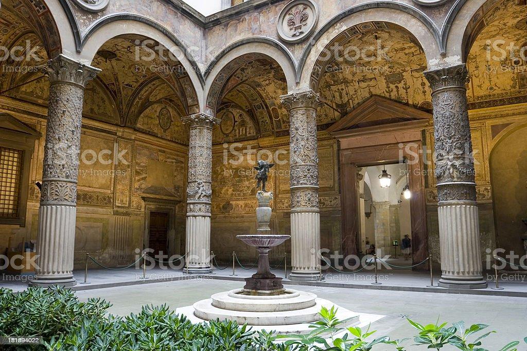Palazzo Vecchio royalty-free stock photo