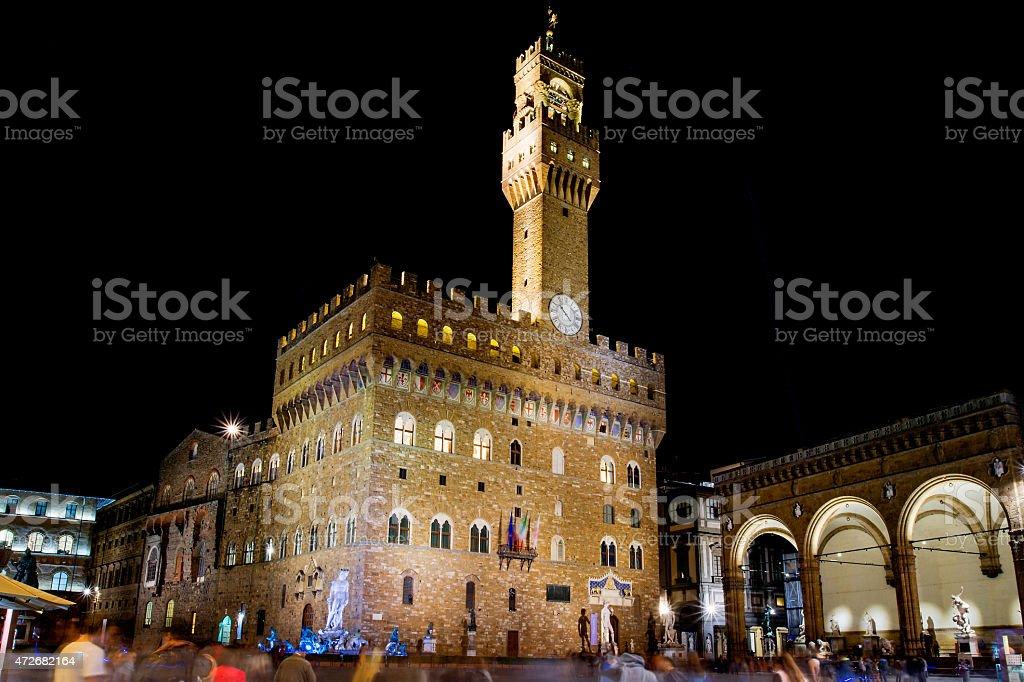 Palazzo vechhio stock photo