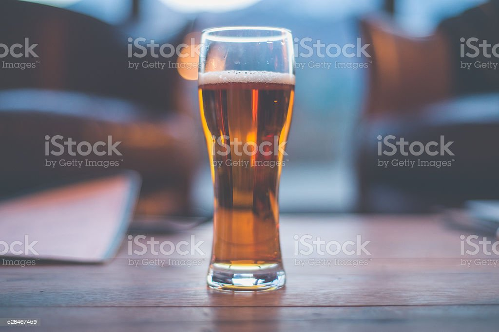 Pale ale beer stock photo