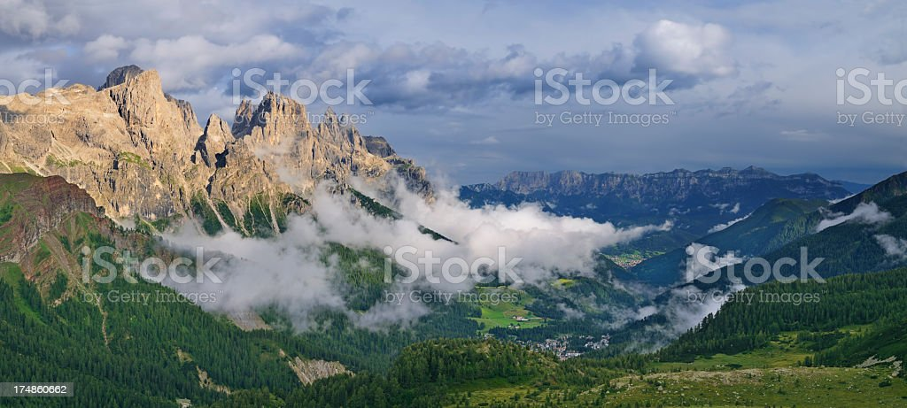 Pale Di San Martino (Italia) stock photo