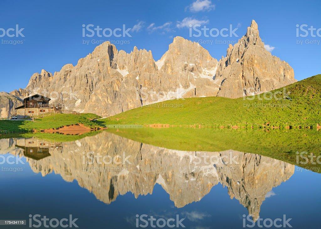 Pale Di San Martino  (Dolomites - Italy) stock photo